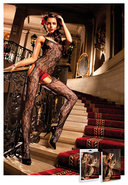 Flower Lace Bodystocking (disc)