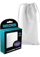 Safe Sex Antibacterial Toy Bag - Large - White